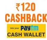 Buy Exciting Offer – Get upto Rs.120 cashback on min addition of Rs.400 at Paytm