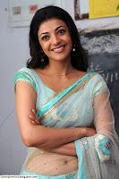 Hot and sensational tamil actress kajal agarwal in saree!