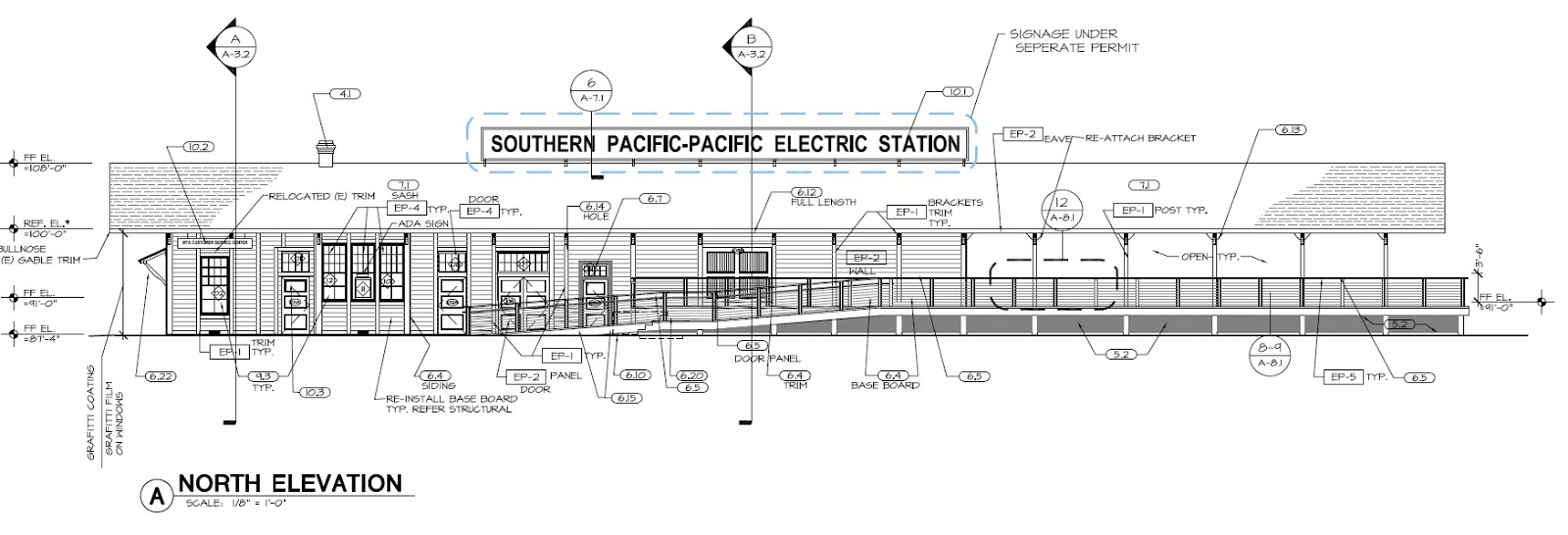 Pacific Electric Railway Modeler: Station Drawings