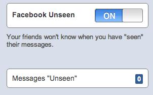"""Comment supprimer le """"Vu"""" sur Facebook"""
