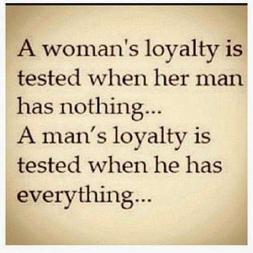 Loyalty of Men and women