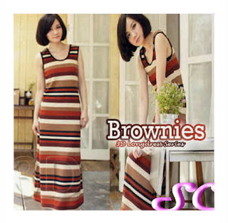 grosir baju rajut model brownies