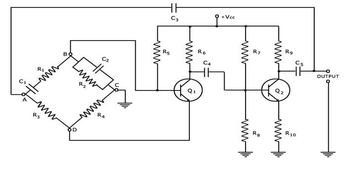 elektr u0130k ve elektron u0130k   wien bridge oscillator