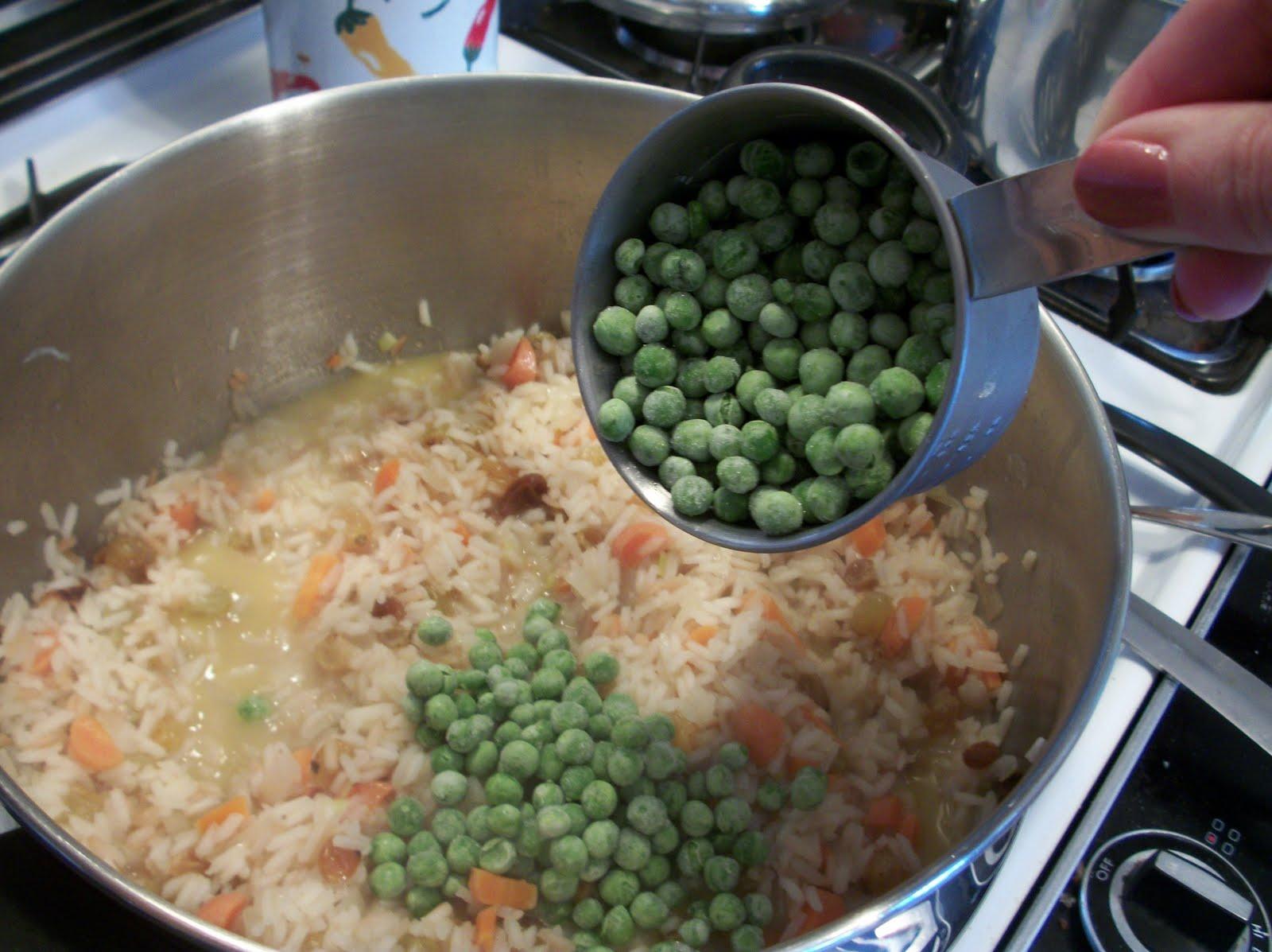 Cook with Sara: Cashew Rice Pilaf