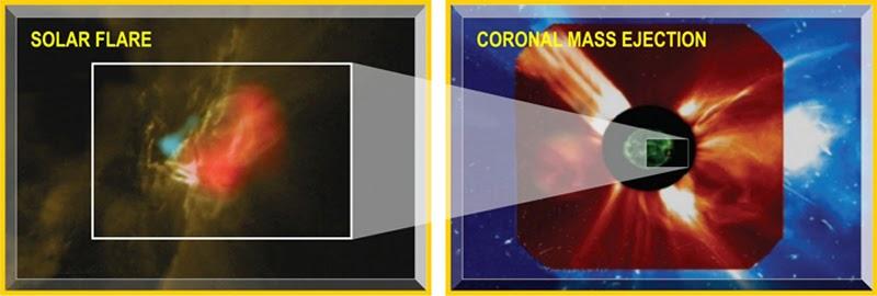 Пилотируемым полетам угрожает космическое излучение (2 фото)