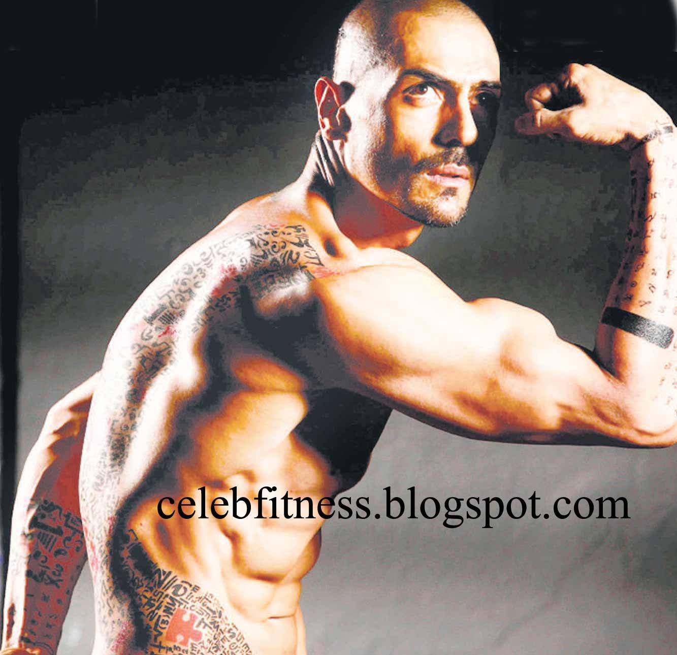 Rampal Body Arjun Rampal's Sculpted Body