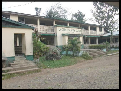Right wing of La Carlota City High School building