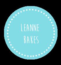 Leanne bakes