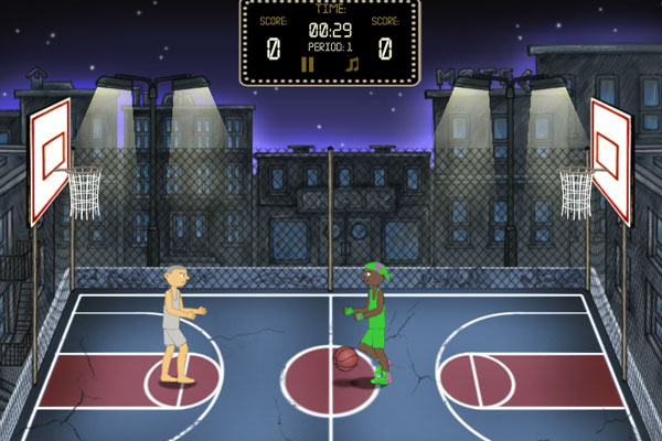 2 player basketball game unblocked