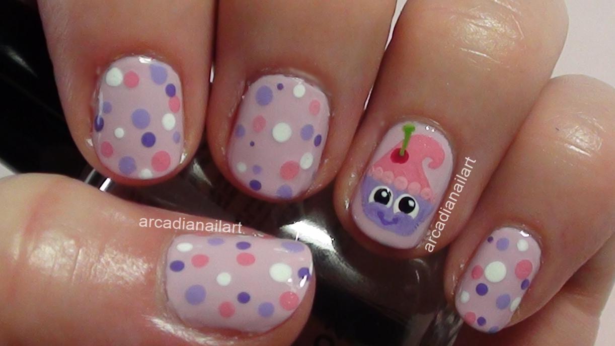 Arcadianailart may 2013 cupcake nails prinsesfo Choice Image