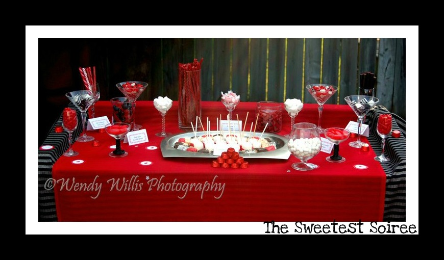 Red And Black Baby Shower Decorations Part - 40: Red And White Bridal Shower Decorations : Red And Black Bridal Shower Ideas  White