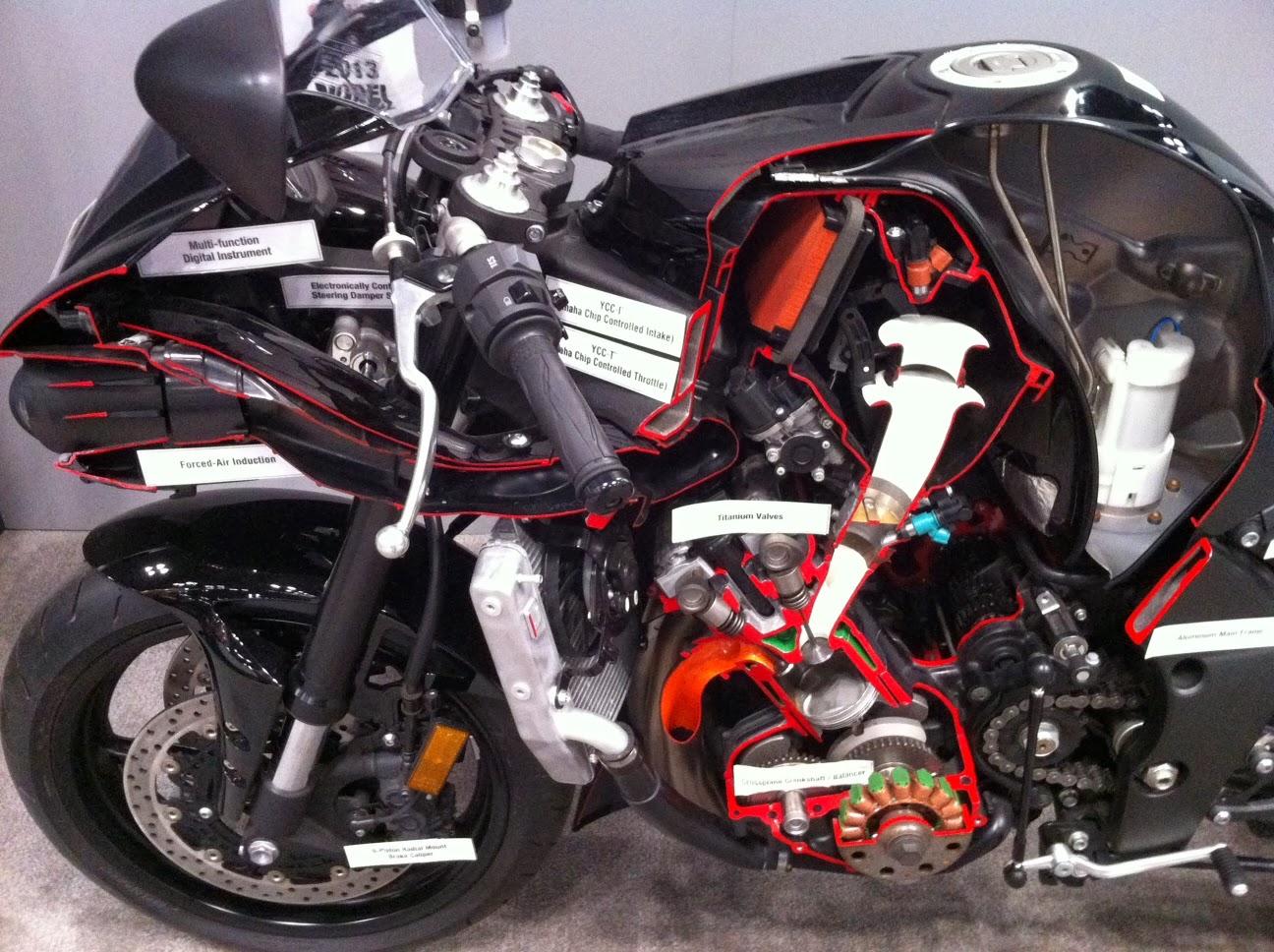 Whiskeyracer Yamaha Cutaway Honda Cb750 Engine Awesome Stuff