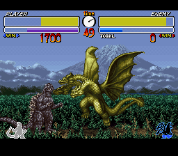 Godzilla Kaijuu Daikessen rom snes super famicom download free