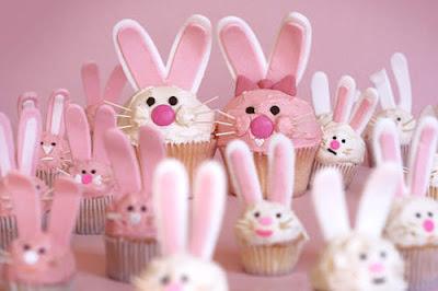 Delicious Easter Bunny Cupcakes