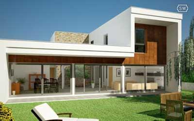 Casas modernas casas modernas for Disenos de casas lujosas