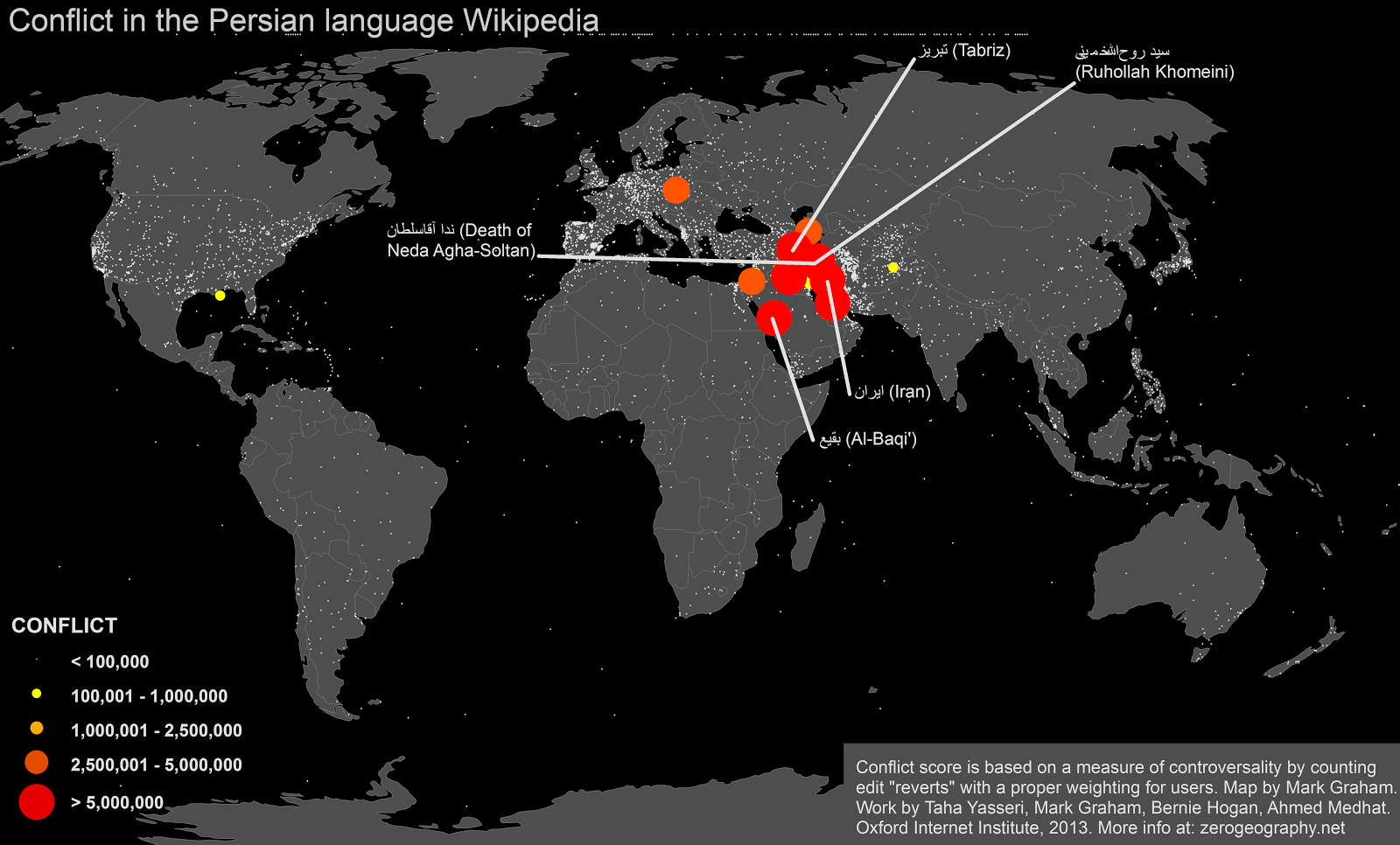 floatingsheep: Mapping Controversy in Wikipedia