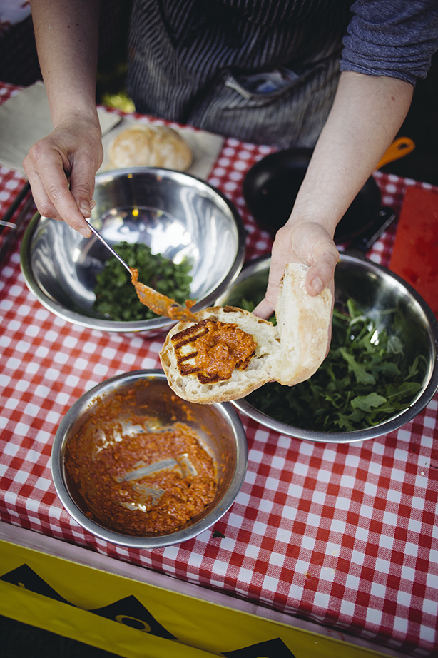 Hallo Chorizo at Street Diner, Brighton