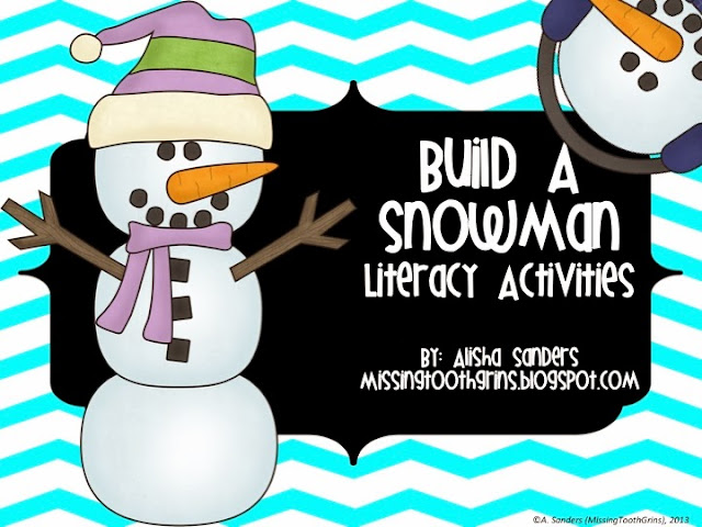 http://www.teacherspayteachers.com/Product/Build-A-Snowman-Literacy-Activities-1002535