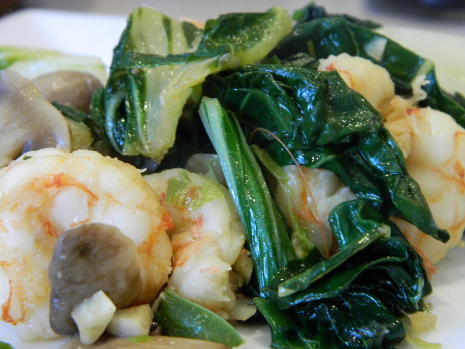 Spicy shrimp and vegetable stir-fry: one of my favorite meals to make!