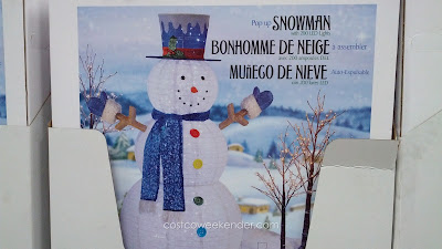Pop Up Snowman:  easy to set up and put inside or outside