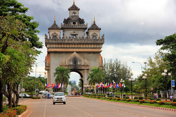 Champs Elysees of Vientiane - Laos