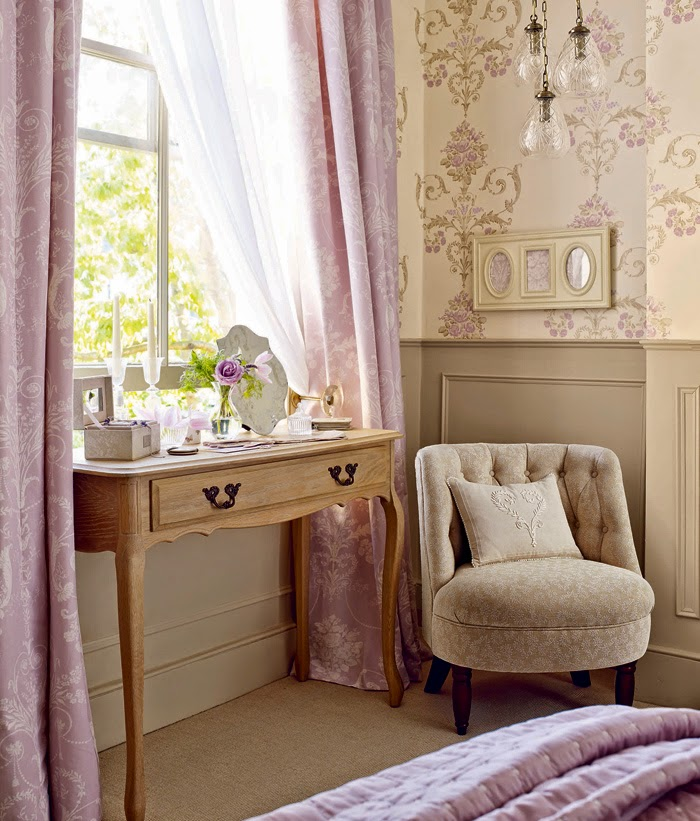 Decor Inspiration Pale Shades Of Lilac Natural Beige Cool Chic Style Fashion