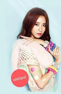 SNSD Yoona Casio Baby G Photos
