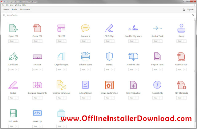 download adobe acrobat xi offline installer