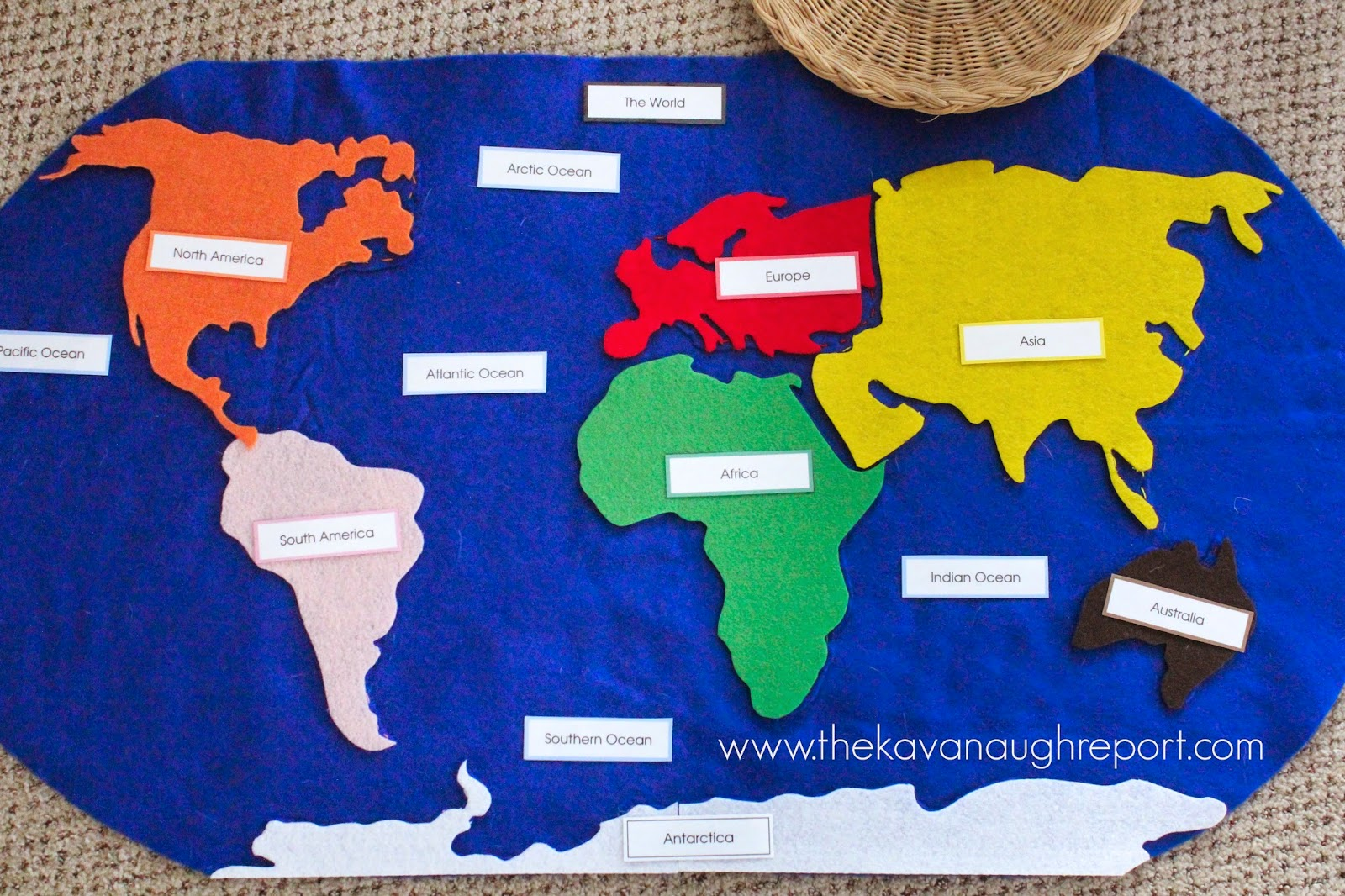 Story Of Continents For Kids