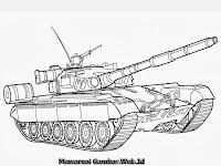 Gambar Mobil Tank Berperang