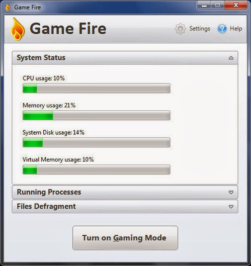 برنامج GameFire