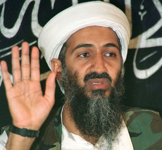 osama bin laden. take out osama bin laden.