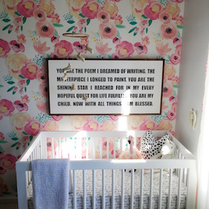 TOUR OUR DAUGHTER'S NURSERY