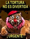¡NO AL CIRCO CON ANIMALES!