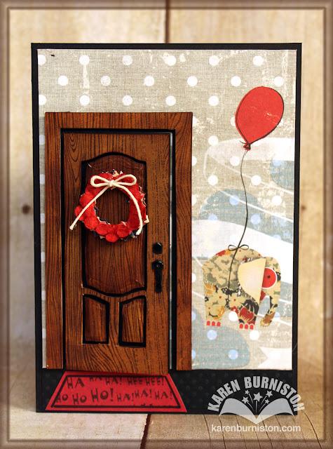 Video Tutorial And Idea File Karen Burniston Bigz Door
