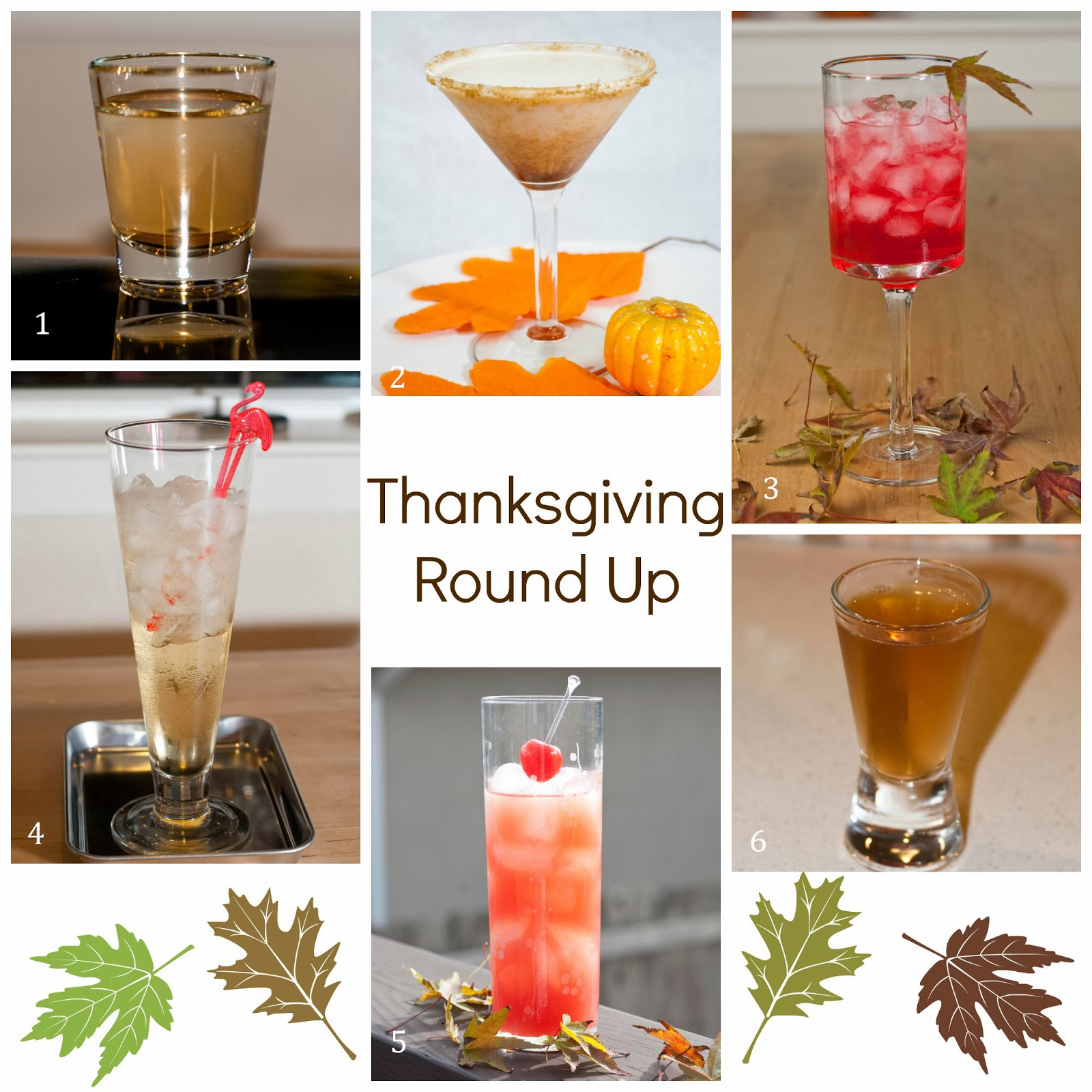 Thanksgiving round up a year of cocktails for Thanksgiving drink recipes with alcoholic