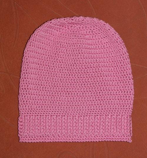 Вязание шапки-чулка крючком Описание