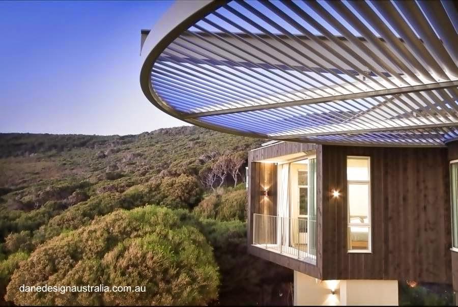 Sector alto de una casa de playa en el oeste de Australia