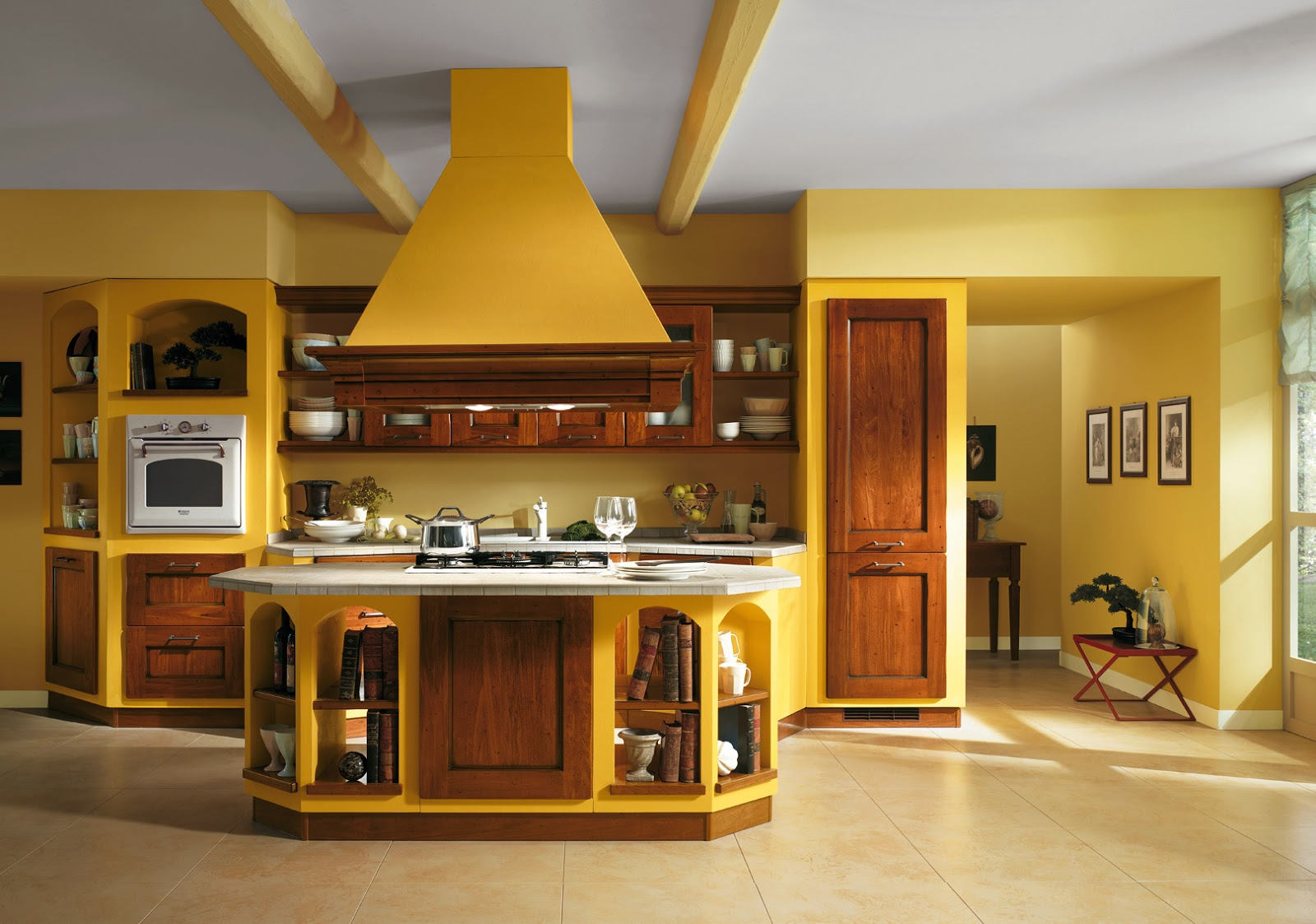 Immagini cucine moderne in muratura