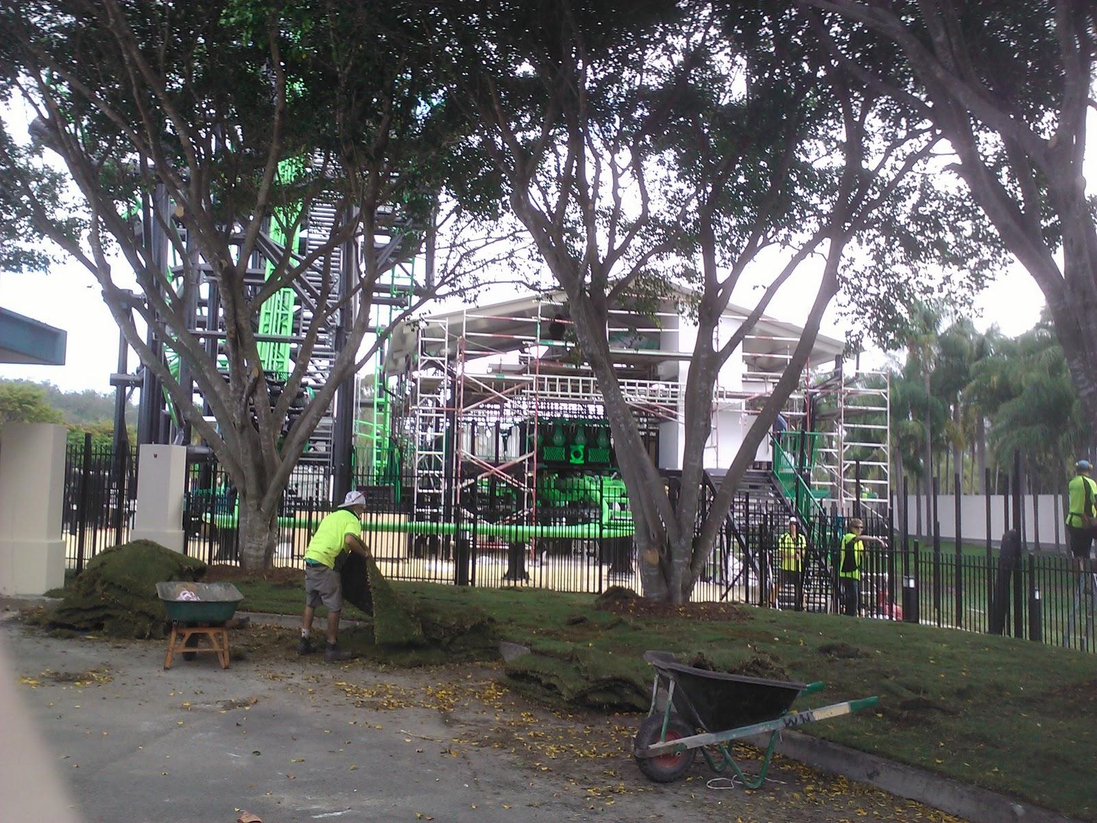 Green Lantern à Warner Bros Movie World Australia en 2011 - Page 2 Station+house