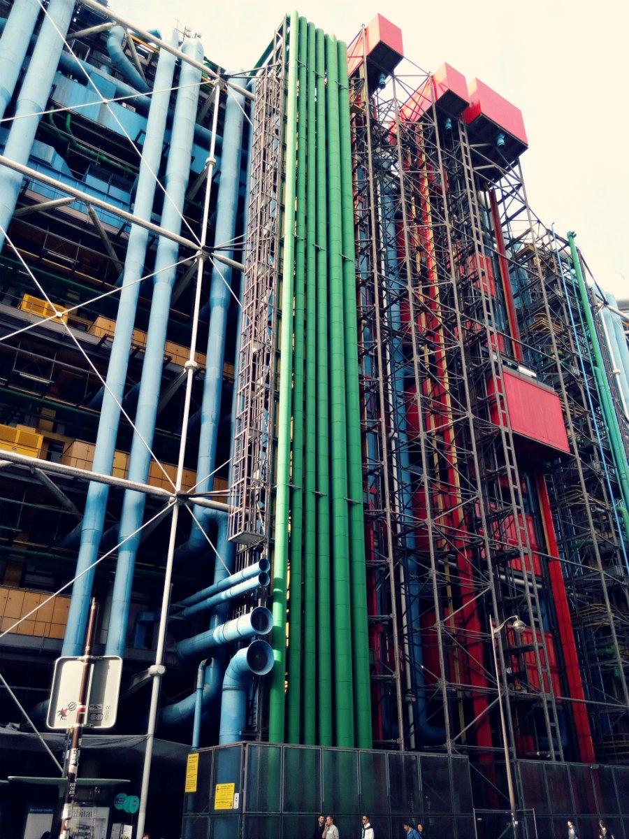 visiter le centre Georges Pompidou