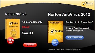 Norton Antivirus 2013 - Facebook Promo Page