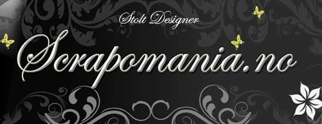Stolt designer for Scrapomania