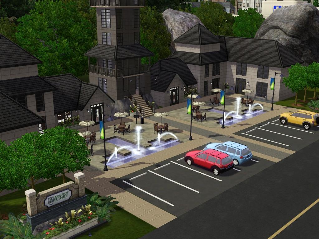 my sims 3 blog anne arbor university by my sim realty