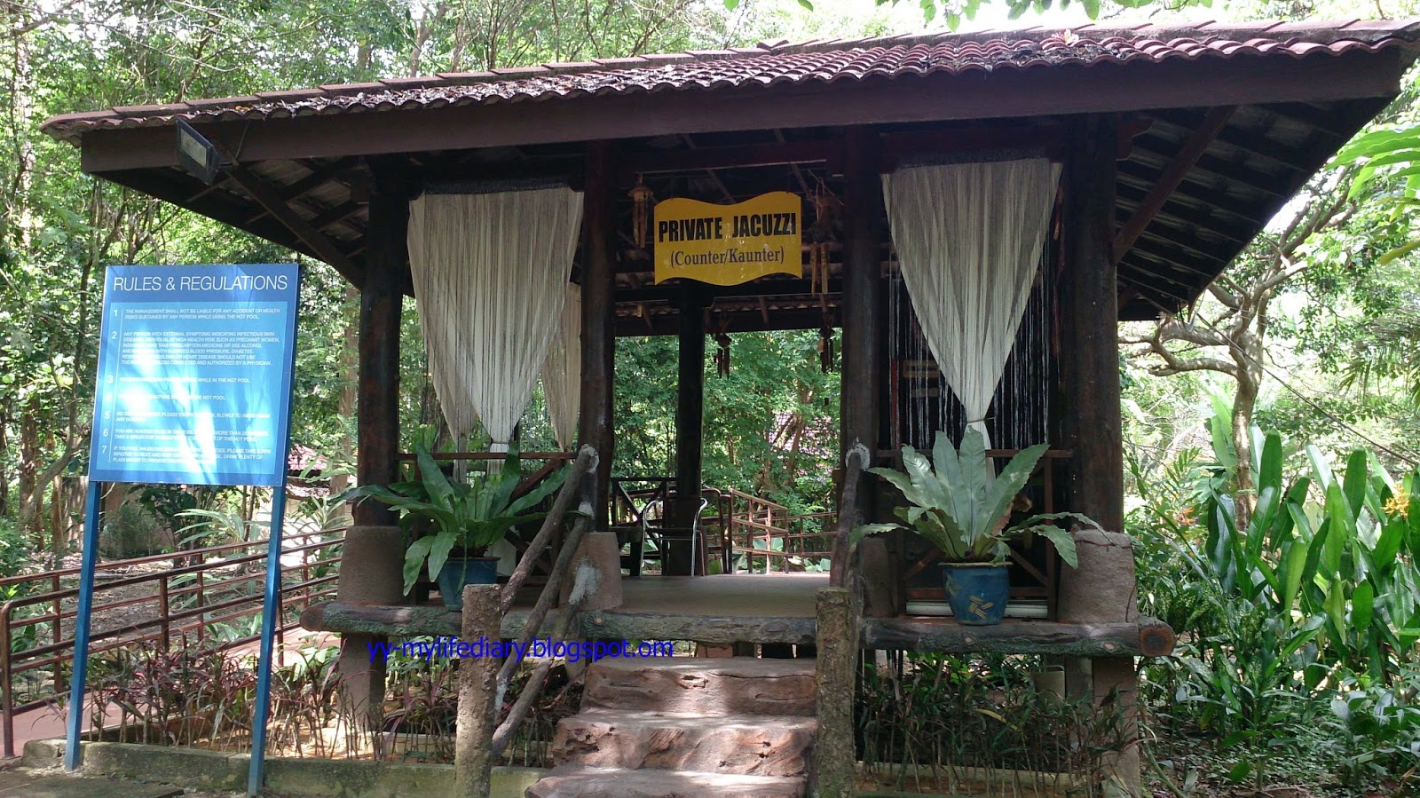 Sungai klah hot springs -  Jacuzzi Sungkai Private Jacuzzi