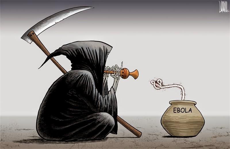 Luo Jie: Ebola.