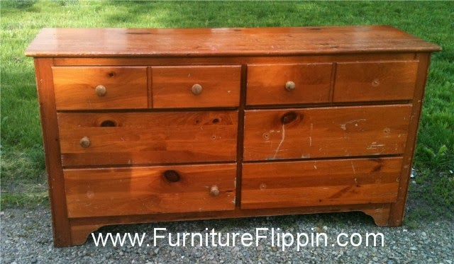 Furniture Flippin\': Oh So Knotty Pine...