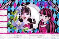 Baixe seu Calendário Monster High 2013,aqui!