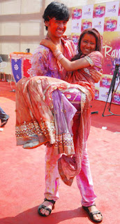Happy Holi 2012, TV Stars playing Holi, Indian Actors/Actress Holi Bash