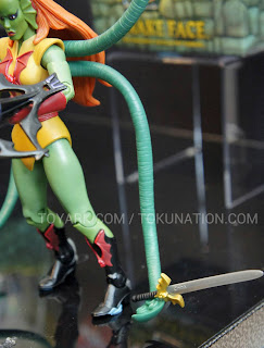 Mattel Matty Collector 2013 Toy Fair Display - Masters of the Universe MOTU Classics Octavia figure